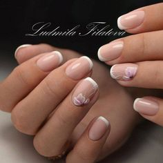 The advantage of the gel is that it allows you to enjoy your French manicure for a long time. There are four different ways to make a French manicure on gel nails. Shellac Nails, Manicure And Pedicure, My Nails, Nail Polish, Gel Nail, French Nail Designs, Diy Nail Designs, French Nails, White Tip Nails