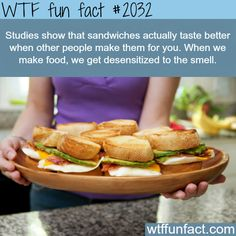 Why most people don't like the food the make - WTF fun facts