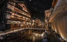 Twitterに投稿された銀山温泉の写真 美しさで多くの人を魅了 - ライブドアニュース