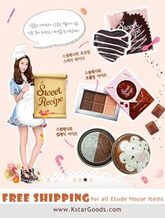 #Etude House #Free Shipping for all etude house itmes on kstargoods.com(The best kpop shop)