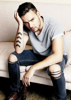 Liam for Attitude Magazine                                                                                                                                                      More