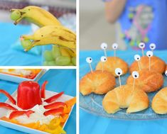 Two Easy Kids Party Ideas: Into The Woods & Under The Sea - - Lately we've been aiming to make our kids' birthday parties easy, low-stress, but still fun for them and us (did someone say theme? Dolphin Birthday Parties, Underwater Birthday, Dolphin Party, Birthday Party Themes, Underwater Theme Party, Beach Party Birthday, Shark Birthday Ideas, Birthday Brunch, Mermaid Birthday