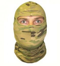SOLO 1 Hole Balaclava Multicam is designed by special forces for private military contractors and specialist military units.