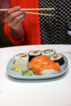Sushi lunch in Tampere Finland