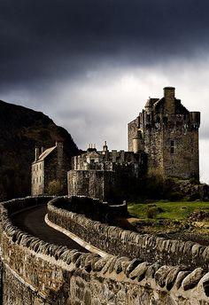 Eileen Donan Castle - Scotland by John & Tina Reid