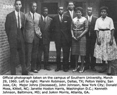 On March 31, 1960 students at Southern University in Baton Rouge protested after 16 students were expelled for taking part in sit-ins. #TodayInBlackHistory