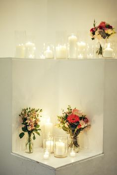 LETTUCE & CO - STYLE. EAT. PLAY 'tahnee + luke - bright and colourful wedding'. reception wedding styling. dance floor nook decor styling. candles candles candles. with a pop of colour. concept, design and wedding styling by lettuce & co