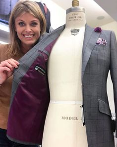 Purple Interior, Suit Accessories, Tailored Suits, Stay Classy, Men's Style, Bespoke, Brother, Suit Jacket, Menswear