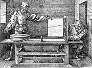 """New artwork for sale! - """" Man Drawing A Lute 1523 by Durer Albrecht """" - http://ift.tt/2Az85pz"""