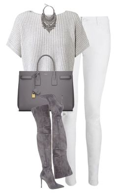 Casual Outfit in Weiß und Silber (Farbpassnummer 2) Kerstin Tomancok / Farb-, Typ-, Stil & Imageberatung