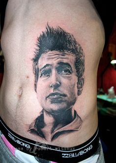 Bob Dylan Tattoos by Robert Witczuk