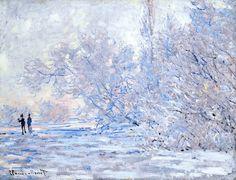 Claude Monet - 1840 - 1926 Le Givre À Giverny