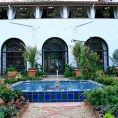 Spanish Fountain Design Ideas, Pictures, Remodel and Decor