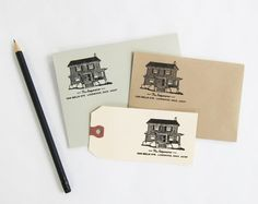 custom made stamp image of your home! I want one!!