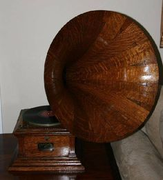 Antique Oak Victorian Phonograph-Extremely Rare - Pick Up Only -P- Lot 1548125