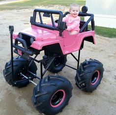 Jeep girl in training