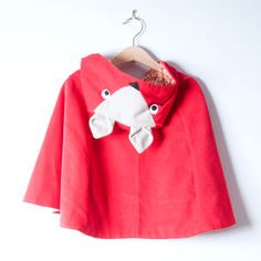 Frankie The Fox Hooded Cape
