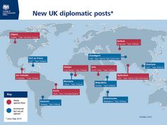 New UK Diplomatic Posts - October 2012