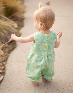 Katelyn Romper.  I love this for the little one.  Sew Sweet Patterns