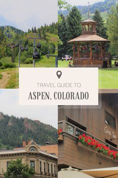 Looking for things to do in Aspen other than skiing? From grabbing Ink coffee to trekking up Maroon Bells, this list has every Aspen non-skier covered. Colorado Springs, Aspen Colorado, Colorado Mountains, Usa Travel Guide, Travel Usa, Travel Guides, Travel Tips, Denver Travel, Travel Oklahoma