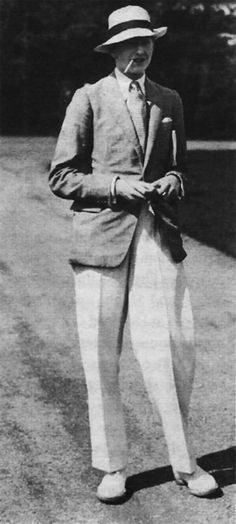 """Hugh Lygon, photographed in 1929. The character of Sebastian Flyte in Evelyn Waugh's """"Brideshead Revisited"""" is said to be based on Lygon, the second son of the seventh Earl of Beauchamp. Mirroring the relationship with Charles Ryder, the novel's narrator, Waugh, who was from a middle class background, met Lygon while they were both studying at Oxford University, and the friendship catapulted the author into the world of the aristocracy."""