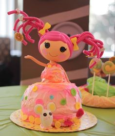lalaloopsy birthday cake recipe