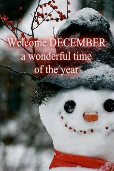 Good Welcome December