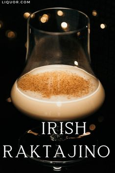 Live long and prosper with this Star-Trek-inspired version of Irish Coffee. The Irish Raktajino adds a pinch of paprika for a spicy and earthy hit. Thanksgiving Cocktails, Festive Cocktails, Christmas Cocktails, Craft Cocktails, New Years Cocktails, Bar Drinks, Beverage, Hot Buttered Rum, Local Bars