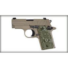 Sig Sauer P238 Scorpion .380ACP Pistol w/ G-10 Grips, SIGLITE Sights, & Ambi Safety - 7rd Rockwell Arms