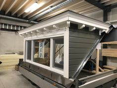 Duplex Design, Loft Design, House Design, Dormer Roof, Dormer Windows, Attic Spaces, Attic Rooms, Dormer Loft Conversion, Bungalow Extensions