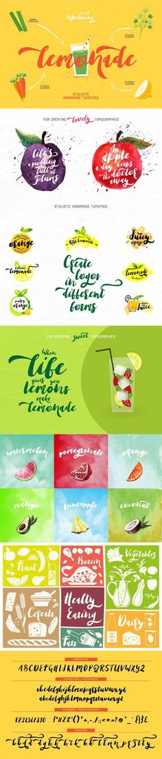 We have created an awesome font for you. We named it as LEMONADE. It is a thick, bold and quiet cool font. Uppercase And Lowercase, Script Fonts, Cool Fonts, Lemonade, Your Design, Cool Stuff, Create, Fonts, Typography