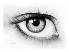 karakalem-göz-çizimi