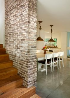 Stupendous Faux Brick Wall Panels Home Depot Decorating Ideas Gallery in Dining Room Contemporary design ideas Brick Wall Paneling, Faux Brick Walls, White Brick Walls, Brick Fireplace, Stain Brick, Fireplace Whitewash, Faux Brick Wall Panels, Fake Brick, Paint Fireplace