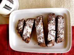 Recipes | Chocolate Pecan Biscotti | Homemade Holiday Gifts