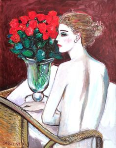 Painter Jean-Pierre Cassigneul (French: 1935)