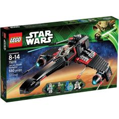 Lego Star Wars Jek-14 Stealth Starfighter, Multicolor