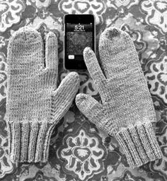 Knitting Patterns for Mittens | Feel Good Yarn Company