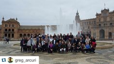 #Repost @greg_arcuri About half of my amazing @apiabroad program in front of the #plazadeespaña #ispyapi #apiabroad This group is going to be most certainly one for the books! #studyabroad