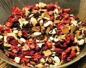 Orange Cranberry Cinnamon Assam Tea - loose leaf