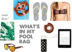 What Nicole Wore: What's in My Pool Bag