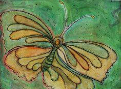 ...butterfly art