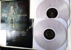 GOJIRA Way of All Flesh Gatefold 2LP Limited Edition Clear Vinyl Record 2013 #DeathMetal