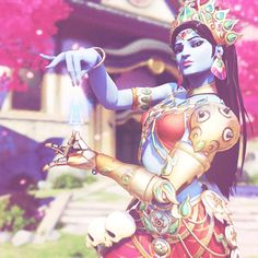 Symmetra in the gorgeous Devi Legendary skin