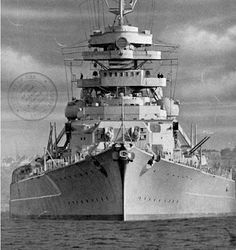 Infamous German Battleship the Bismarck was Commissioned in August 1940 and Sank by a Concerted British Air and Sea Attack in May 1941