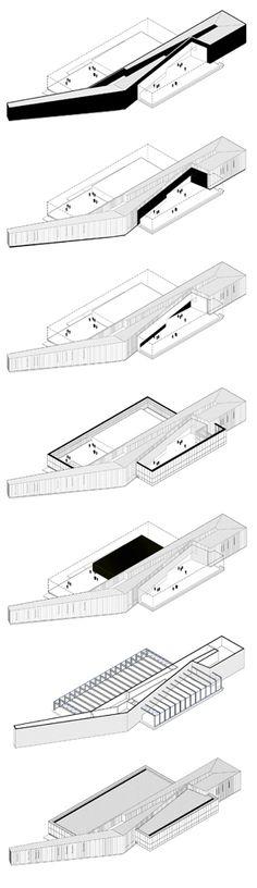 architecture axonometric diagrams _ part4