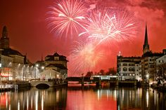 Zurich, Switzerland New Year's Eve