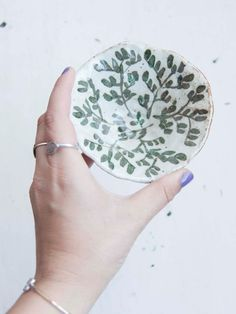 Leafy Cup on Etsy, $40.00