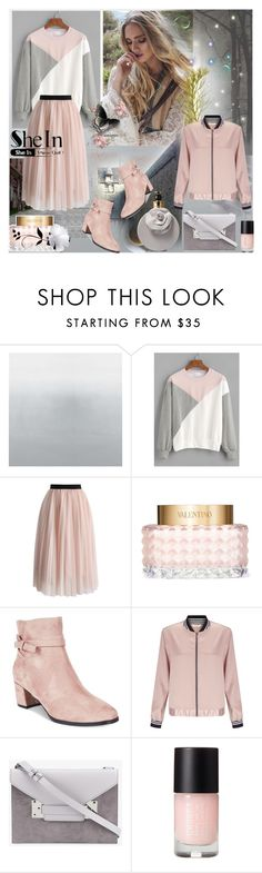 """""""for Shein contest"""" by ninigreen ❤ liked on Polyvore featuring Chicwish, Valentino, Impo, Miss Selfridge and Sophie Hulme"""