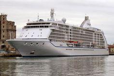 """Seven Seas Voyager"" cruise ship, port of Livorno"