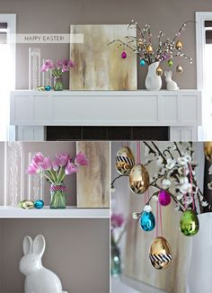 very cute easter decor
